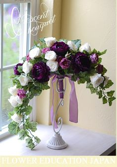 Irresistible Your Wedding Flowers Ideas. Mesmerizing Your Wedding Flowers Ideas. Artificial Flower Arrangements, Beautiful Flower Arrangements, Wedding Flower Arrangements, Floral Centerpieces, Flower Bouquet Wedding, Floral Arrangements, Beautiful Flowers, Wedding Centerpieces, Tall Centerpiece