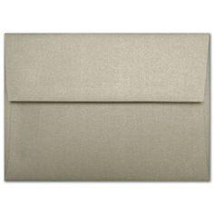 "6 1/2"" Square Gold Leaf Metallic Envelopeshttp://www.paperandmore.com/product/1908/6-1-2-square-gold-leaf-metallic-square-flap-envelopes"