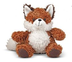 Frisky Fox Stuffed Animal : Foxes are shy in the wild, but Frisky is stuffed full of personality! This 9 inch, smiling fox has super-soft, fuzzy fur and is always ready for a hug and cuddle. From pointy ears to fluffy tail, this fox will fit right into your heart.