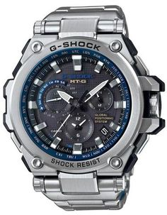 G-shock Casio Mt-g Stainless Steel Bracelet Watch In Silver Casio G-shock, Casio Watch, Casio G Shock Watches, Sport Watches, Cool Watches, Watches For Men, Citizen Watches, Dream Watches, Women's Watches
