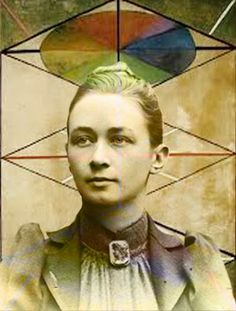 Hilma af Klint was an artist who was creating huge esoteric (misunderstood) paintings in the late 1800's way ahead of Kandinsky or other 'forefathers of modernism'.