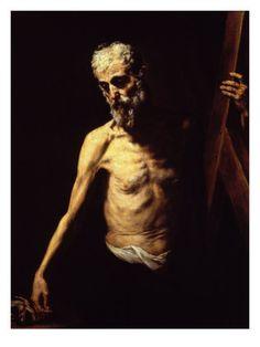 St. Andrew - Jusepe de Ribera