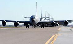 KC-135 Elephant Walk at MacDill AFB.