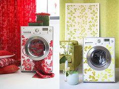 Maquina de Lavar Decorada