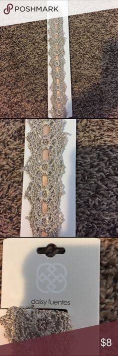Beautiful Lace Headband Brand New Single lacey headband Daisy Fuentes Accessories Hair Accessories