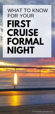 What to wear on a Carnival cruise formal night: Cruise formal wear outfits pictures and best clothes for men, women, kids, teens. What to pack for a Carnival cruise packing list. Cruise tips for first time Carnival cruise to Caribbean or Bahamas vacation. Packing List For Vacation, Packing For A Cruise, Cruise Travel, Cruise Vacation, Vacation Travel, Cruise Tips, Beach Travel, Travel Packing, Honeymoon Cruise