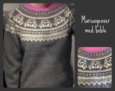 Bilderesultat for mariusgenser Knitting Patterns Boys, Knitting Charts, Hand Knitting, Drops Design, Fair Isle Chart, Drops Baby, Knit Baby Sweaters, Christmas Sweaters, Knit Crochet
