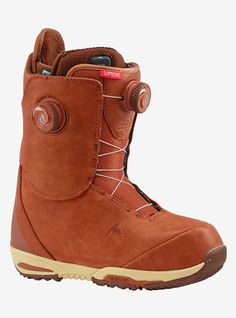 Women's Red Wing® Leather x Burton Supreme Leather Heat Snowboard Boot shown in Red Wing