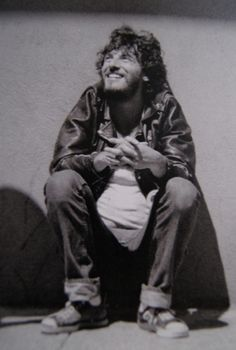 Cuteness. I want my children to have that face…. Bruce please give me children? #BruceSpringsteen