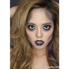 (7) Halloween glam zombie makeup - Halloween Costumes 2013 (if ever I... ❤ liked on Polyvore featuring beauty products and makeup