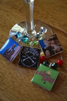 A Christmas Story Wine Charm Set by YourSweetEscape on Etsy, $15.00  http://www.etsy.com/treasury/MTc3NDgxOTR8MjcyMTE1NzA1Nw/a-christmas-story-christmas?index=0