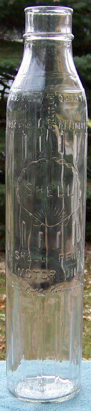 Shell Penn One Quart Motor Oil Bottle