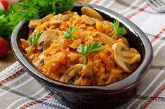 Прекрасное блюдо из капусты, которое можно отнести к постным или диетическим.