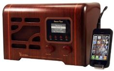 Nostalgic Internet Radio (Catalog Category: Audio/Video/Electronics / General Electronics) by Grace Digital Audio. $191.07. Grace Digital Victoria nostalgic internet radio Listen to over 50,000 radio stations and on demand content Connect to your PC/ Mac music library Music services: Pandora, Sirius, Live 365, MP3 tunes, DAR.fm, Rhapsody, and NPR Pandora integration: thumbs up/ down a song and add/delete stations and pause live streams Station list is searchable by stati...