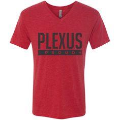 Plexus Proud Men's Next Level Triblend V-Neck Tee