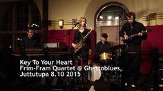 Frim-Fram Quartet: Key To Your Heart. Juttutupa Helsinki Finland. Video Coriosi. - YouTube