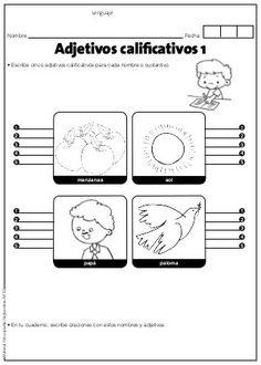 9 Ideas De Adjetivos Adjetivos Adjetivos Actividades Sustantivos Y Adjetivos
