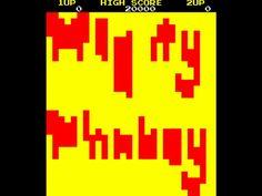 Mighty Monkey, Arcade,  Yih Lung, 1982