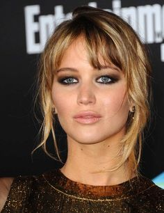 Jennifer Lawrence - smoky and sultry eyes! #PFBeautyBuzz