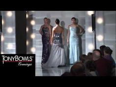 Tony Bowls Evenings Collection Spring 2013 Runway Full