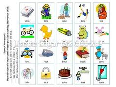 Articulation Cards and activities for /K/ with min pairs. Frustrated by articulation cards with complex word shapes? My articulation card packs are different because they: Use simple word shapes: CV, VC, CVC. CVCV Include minimal pairs Have activities for articulation, phonological awareness and vocabulary skills.  Includes home practice sheets!