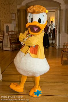 uh donald you have something on your foot:)
