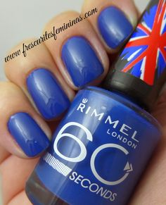 Rimmel London 60 seconds - Blue my mind