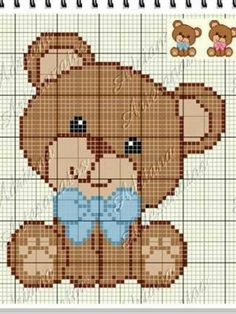 This post was discovered by Si Pixel Crochet Blanket, Crochet Quilt, Crochet Baby, Modern Cross Stitch Patterns, Crochet Stitches Patterns, Cross Stitch Baby, Cross Stitch Charts, Kawaii Cross Stitch, Cross Stitching