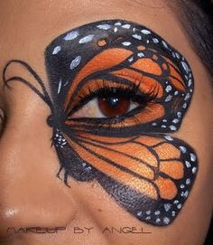 Makeup by Angel: Monarch Butterfly