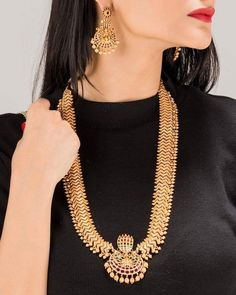 cd55cef29 316 Best neck piece images in 2019 | Gold body jewellery, Gold ...