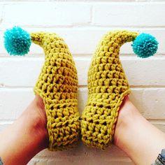 Ravelry: Buddy Elf Slippers pattern by Make.E Emily Ashbourn