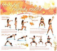 Tone It Up! Blog - NEW Full Body Routine + October Calendar!