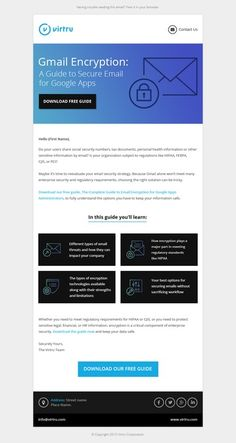 Email template for tech company by Paperkraft