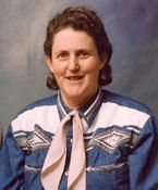 """Temple Grandin, Diagnosed with Autism at age 3 1/2 - non-verbal first 4 years of life.   """"If language naturally evolves to serve the needs of tiny rodents with tiny rodent brains, then what's unique about language isn't the brilliant humans who invented it to communicate high-level abstract thoughts. What's unique about language is that the creatures who develop it are highly vulnerable to being eaten."""" """"You simply cannot tell other people they are stupid, even if they really are stupid."""""""