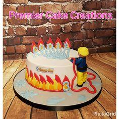 Fireman Sam Cake More Source Fireman Party, Firefighter Birthday, Fireman Sam Cake, Fireman Sam Birthday Cake, Fire Engine Cake, Fire Cake, Fire Fighter Cake, 3rd Birthday Cakes, Novelty Cakes