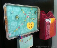 Magnetic Memo Board - Dear Lizzy Fifth and Frolic Line - CreativeCynchronicity.com