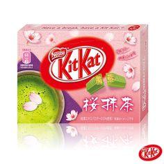 桜抹茶のキットカット♪