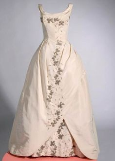 Evening gown circa 1950's