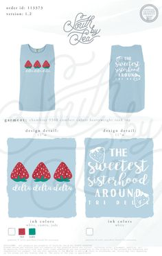 Delta Delta Delta | Tri Delta | The Sweetest Sisterhood Around | South by Sea…
