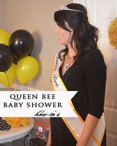 Queen Bee baby shower.