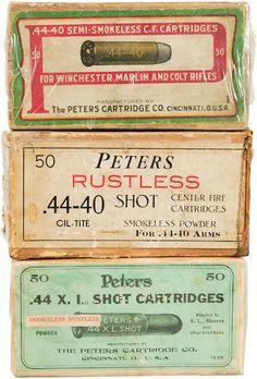 Ammo Box Labels