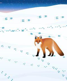 Eläinopas: tutustu pihan talvivieraisiin   Meillä kotona Science Nature, Kindergarten, Fox, Kids, Animals, School, Winter Time, Young Children, Boys
