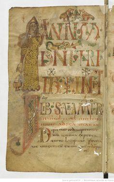Sacramentarium gelasianum [Sacramentaire gélasien, dit de Gellone (Saint-Guilhem-le-Désert)].   Gallica
