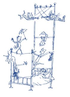 El libro de las camas. Sylvia Plath y Quentin Blake   Biblioabrazo Quentin Blake Illustrations, Illustrations And Posters, Cool Sketches, Drawing Sketches, Drawings, Sylvia Plath, Leo Lionni, John Keats, Anais Nin