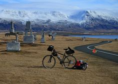 Gufunes Sculpture Park,  Iceland, a great place to ride your #Bike