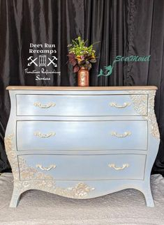 How to Update a Dresser Using Resin and Paper Clay Molds I bought this Bombay style dresser over a year ago for a client who originally wanted to add . Laundry Basket Dresser, Ikea, Faux Beams, Buffet, Folding Walls, Iron Orchid Designs, Shabby, Modern Dresser, Cute Clay