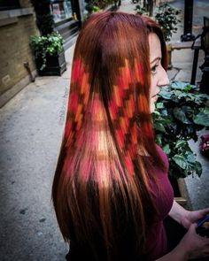 2015 ushered in a wave of interpretations of the pixelated haircolor technique—no one owned the technique more than Philip Ring.