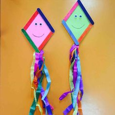 Kite Craft Www Amommysadventures Com Crafts Kites Preschool