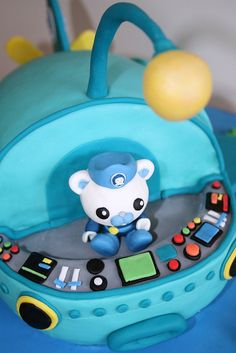 Octonauts Gup-A Cake: Front | Flickr - Photo Sharing!