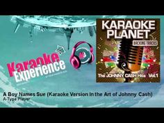 """A-Type Player - A Boy Names Sue - Karaoke Version In the Art of Johnny Cash """" among most requested songs"""""""